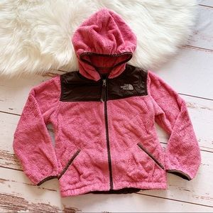 North Face Pink Hoodie Jacket S (7/8)